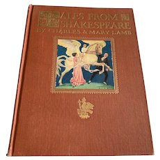 1922 Tales From Shakespeare Children's  Book