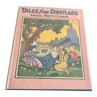 1955 Oversized Children's Book - Tales From Storyland - DJ