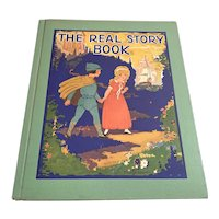 1939 Oversized Children's Book - The Real Story Book - FJ