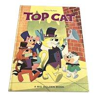 1963 Big Golden Book - Hanna Barbera Top Cat