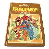 1977 Hardcover Children's Book - Walt Disney Fantasy On Parade