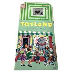 1966 Lowe Fun House Book - Toyland Picture Book