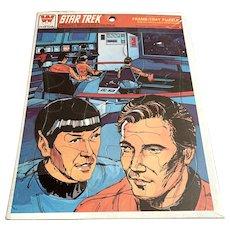 Whitman Frame Tray Puzzle - Star Trek - Unused