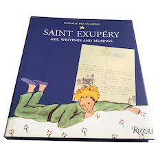 2003 Saint Exupery Art Writings & Musings Book - little Prince