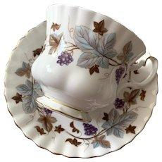 Royal Albert Bone China Tea Cup & Saucer - Lorraine Pattern
