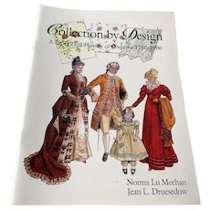1999 Paper Doll Book - Collection By Design - A Paper Doll History Of Costume 1750 - 1900