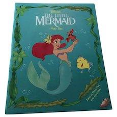 Vintage Walt Disney The Little Mermaid Punch Out Play Set - Unused