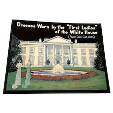 1996 Shackman Paper Doll Book - Dresses Worn By The Kafies of the White House