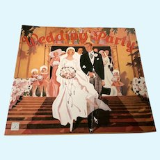 1991 Shackman Paper Doll Book - The Wedding Party