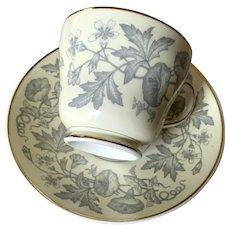 Wedgwood Bone China Teacup & Saucer - Wildflower