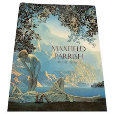 1975 Maxfield Parrish - Hardcover Book With Dust Jacket