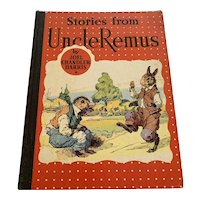 1934 Vintage Children's Book - Stories From Uncle Remus