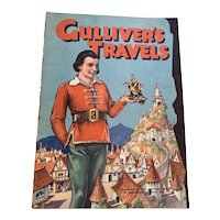 1939 Authorized Edition Paramount Pictures Children's Book - Gulliver's Travels