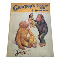 Vintage Softcover Children's Book - Gran'Pops Book Of Fun - Lawson Wood