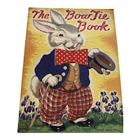 Vintage Softcover Children's Book - The Bow Tie Book - Milo Winter