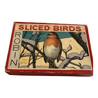 Vintage Spears Games Boxed Set Sliced Bird Puzzles