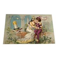 Raphael Tuck Valentines Day Postcard - Little Nemo Series # 6