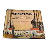 1963 Edition Children's Book - Pennsylvania - DJ