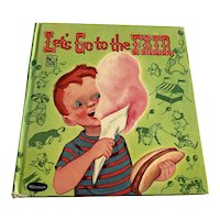 1951 Whitman Story Hour Children's Book - Let's Go To The Fair