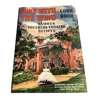 Vintage Gone With The Wind Cook Book - Southern Recipes