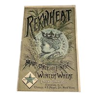 Vintage Rexwheat Cereal Advertising Premium Booklet