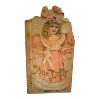 Raphael Tuck Victorian Children's Book - Your Dolly