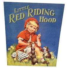 Vintage Children's Book - Little Red Riding Hood - Birn Bros. England # 993