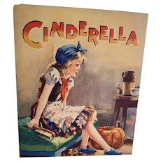 Vintage Children's Book - Cinderella - Birn Bros. England  # 833