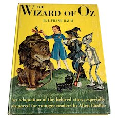 1950 Oversized Children's Book - Random House - The Wizard Of Oz