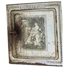 Schepp's tin Bread/Cake Box