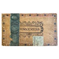 Wooden Sorceress Mattatuck Cigar Co. Box