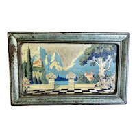 Vintage Artstyle Chocolate Tin Box