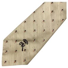 Vintage Countess Mara for Juster's Silk Necktie