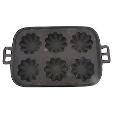 Antique Cast iron Baking tray