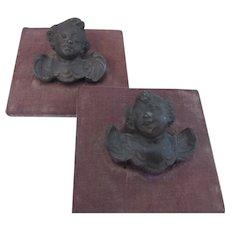 Set of Cherubs  framed
