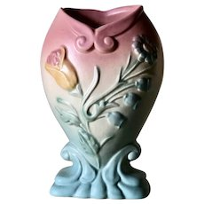 Hull Art Pottery Bowknot Vase