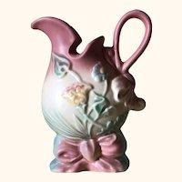 Hull Art Pottery Bowknot Ewer