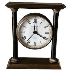 Bronze Tiffany Desk or Miniature Mantle Clock