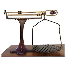 Antique American Grocery Scale from Buffalo New York Scale Co.