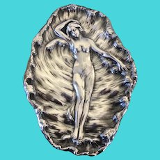James W Tufts Art Nouveau Silverplate Tray