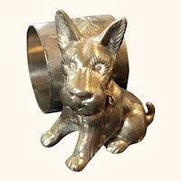 Scottish Terrier Napkin Ring