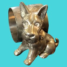 Scottish Terrier Napkin Ring