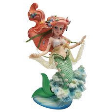 RARE Disney Showcase Ariel Figurine Enesco Couture de Force The Little Mermaid