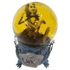 1993 Disney Tim Burton The Nightmare Before Christmas Jack Skellington Musical Snow Globe Snowglobe