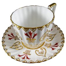"""Royal Chelsea """"464A""""""""   Tea Cup and Saucer Made in England"""