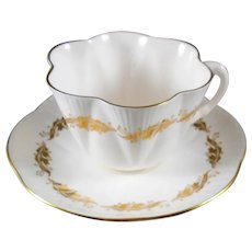 """Shelly  """"Acanthus""""  14112   Tea Cup and Saucer Made in England"""