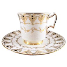 "Royal Chelsea "" 733A""   Tea Cup and Saucer Made in England"