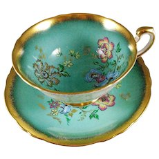 Paragon By Appointment To Her Majesty the Queen B160K  Tea Cup and Saucer