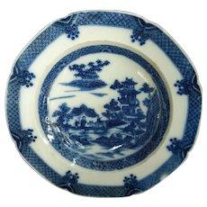 """Early Staffordshire Transferware """"Boy on Buffalo"""" Pattern Plate"""