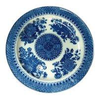 19th C. Staffordshire Transferware Fitzhugh Pattern Plate